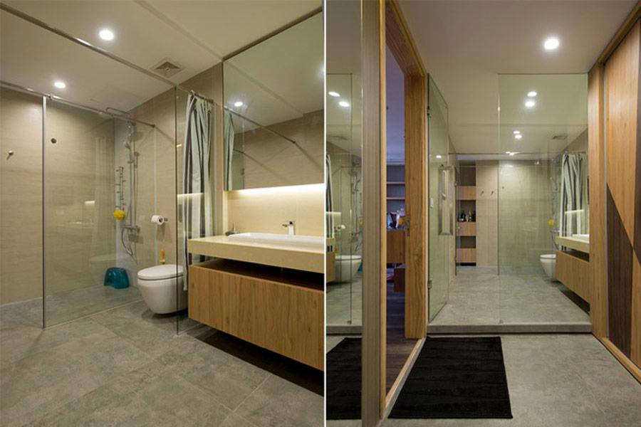 kính nhà tắm