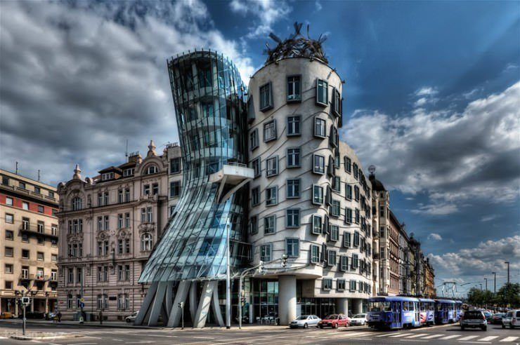 The Dancing House, Prague, Czech Republic (1996)